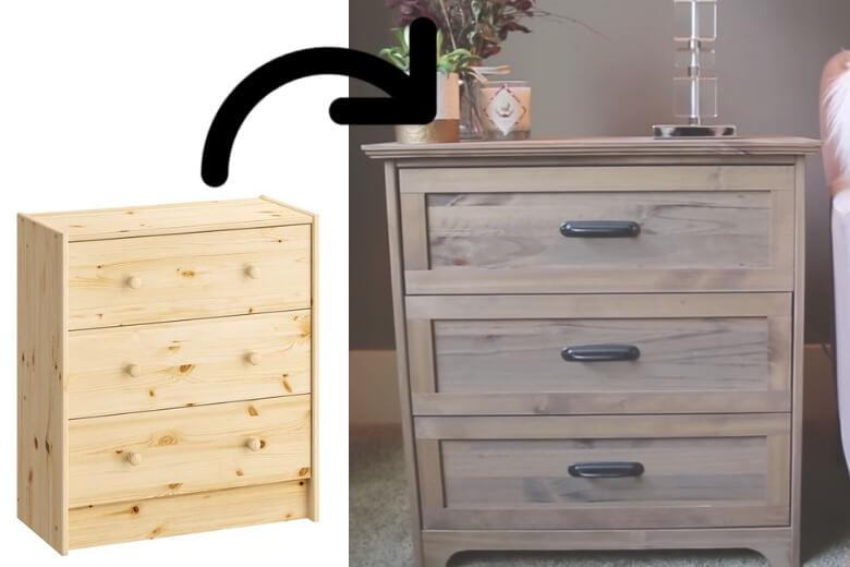 Deze Mensen Transformeerden Hun Ikea Rast Kast Tot Een Chic