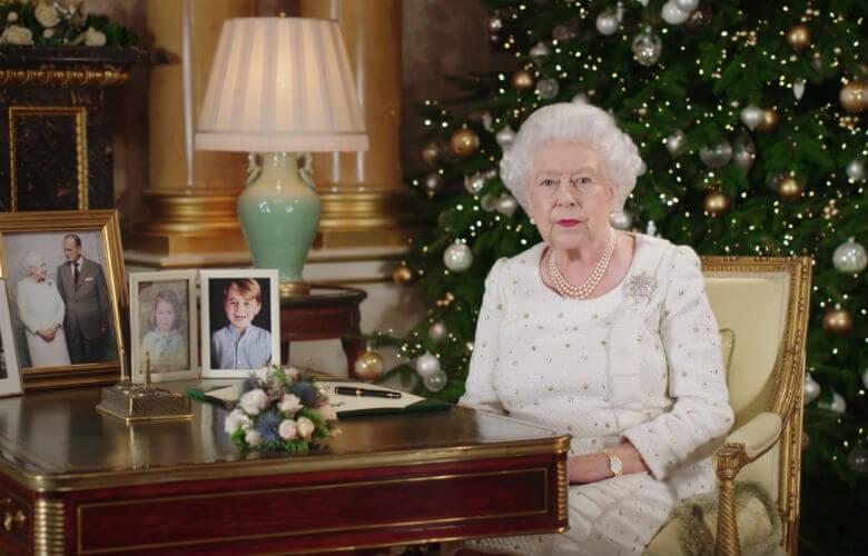 kerstboom koningin elizabeth