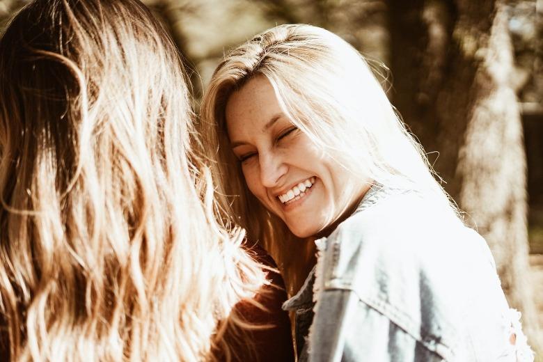 lachen aantrekkelijker