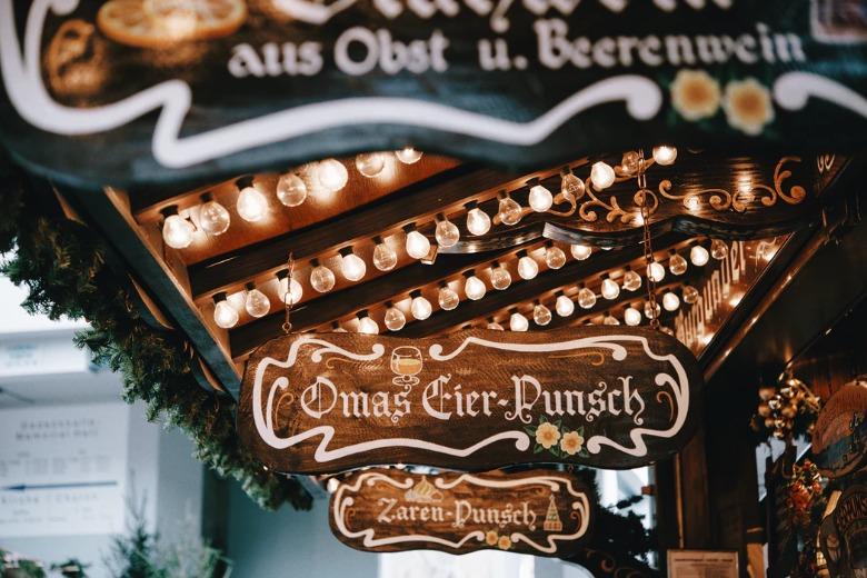 baan kerstmarkten