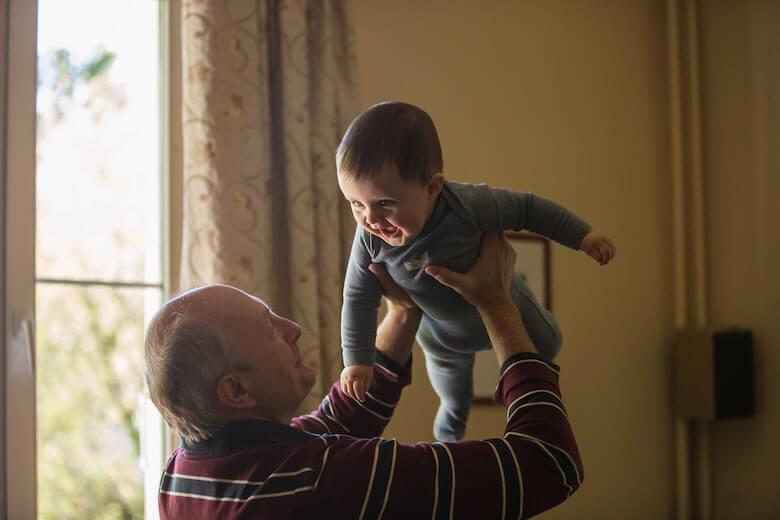 grootouders oppassen