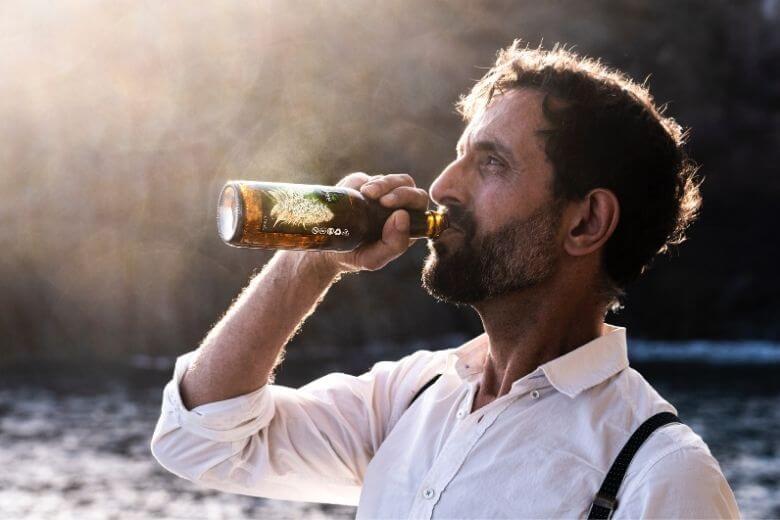 alcohol betrappen