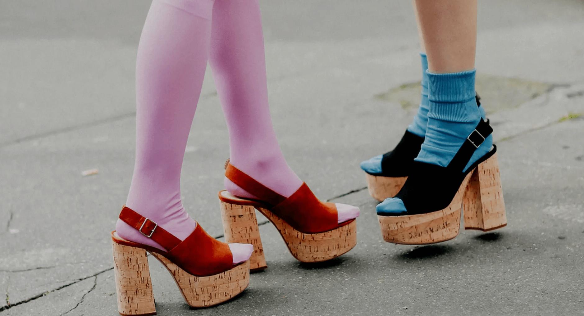 sokken sandalen