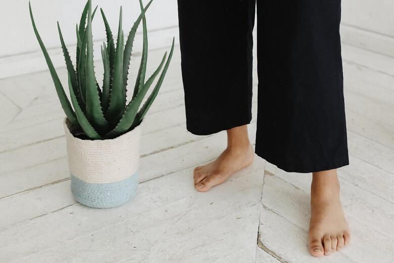 opgezwollen voeten