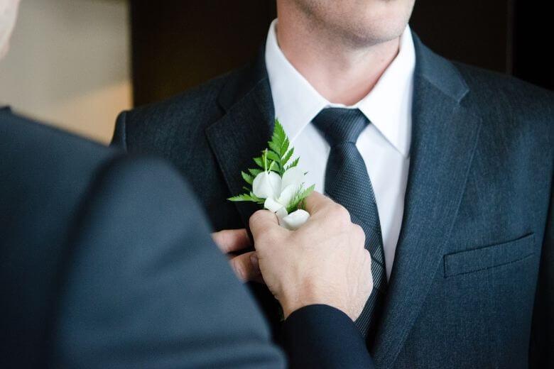 bruiloft broer